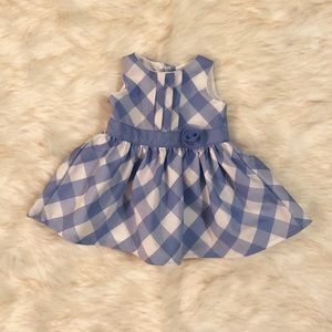 Other - Baby girl blue and white dress